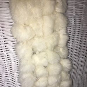 Cejon Accessories Rabbit fur scarf